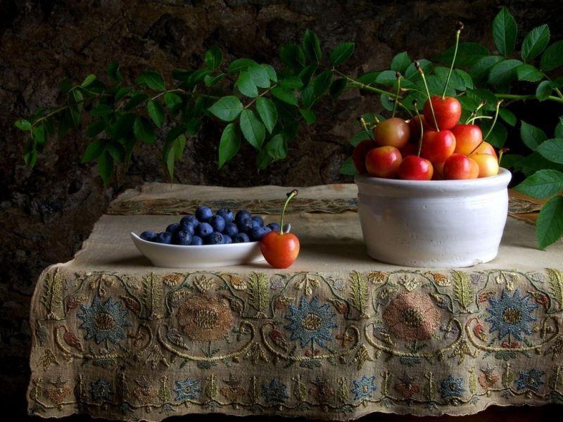 Пазл Собирать пазлы онлайн - Ароматные ягоды