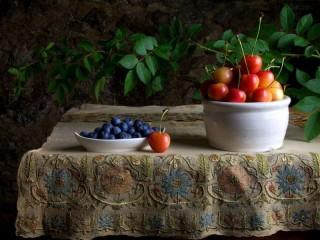 Собирать пазл Ароматные ягоды онлайн