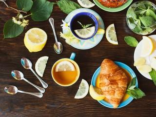 Собирать пазл Ароматный чай онлайн