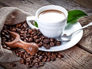 Собирать пазл Ароматный кофе онлайн