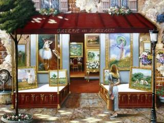 Собирать пазл Арт-галерея онлайн