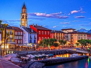 Собирать пазл Аскона Швейцария онлайн