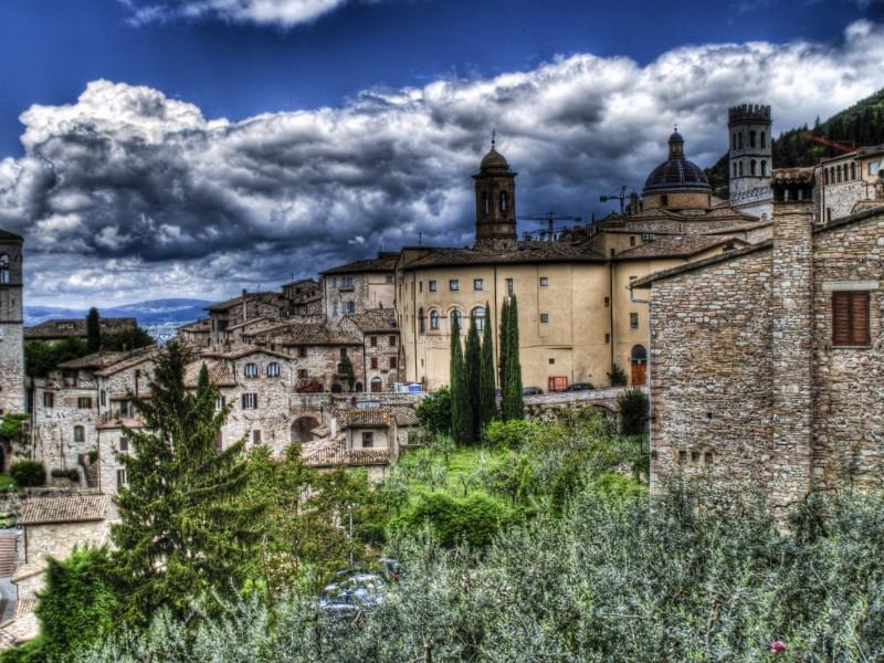 Пазл Собирать пазлы онлайн - Ассизи Италия