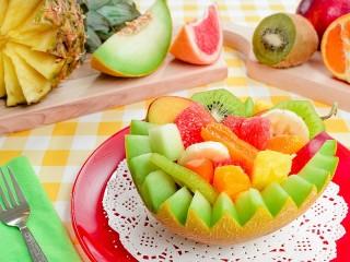 Собирать пазл Ассорти из фруктов онлайн