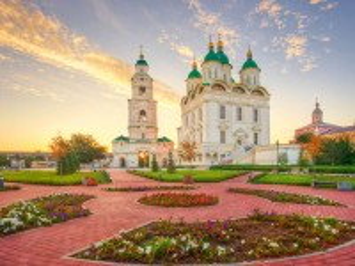 Собирать пазл Астраханский Кремль онлайн