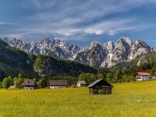 Собирать пазл Австрийская деревня онлайн