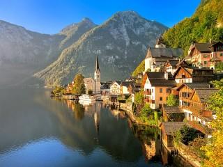 Собирать пазл Австрийские Альпы онлайн
