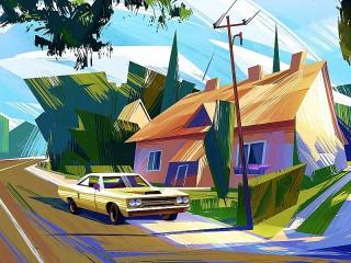 Собирать пазл Авто и дом онлайн