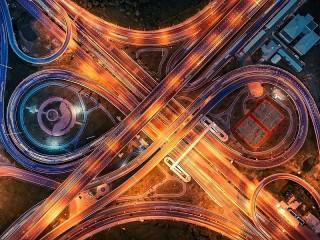 Собирать пазл Автомагистраль онлайн