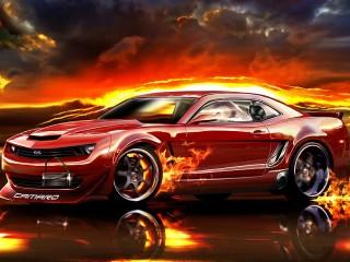 Собирать пазл Автомобиль Chevrolet онлайн