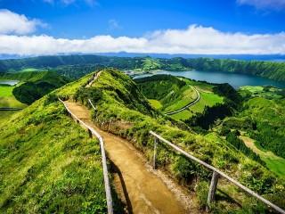 Собирать пазл Азорские острова онлайн