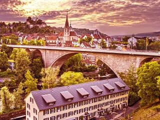 Собирать пазл Баден-Баден Германия онлайн