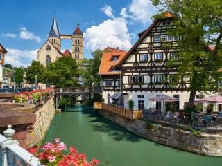 Собирать пазл Баден-Баден онлайн