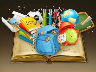 Собирать пазл Багаж для знаний онлайн
