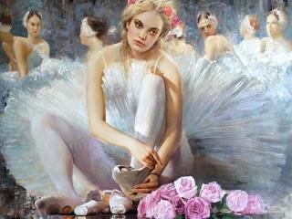 Собирать пазл Балерина онлайн