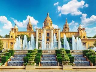 Собирать пазл Барселона онлайн
