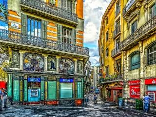 Собирать пазл Барселона Испания онлайн
