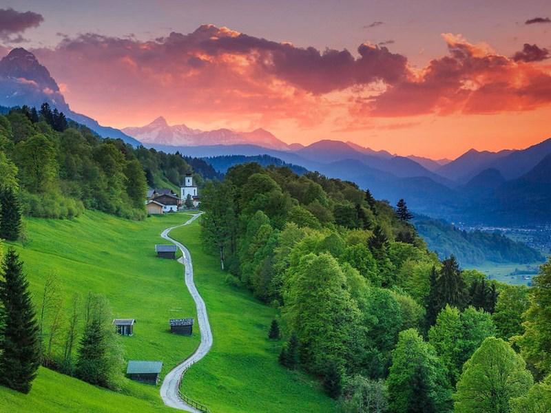 Пазл Собирать пазлы онлайн - Бавария