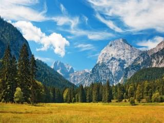 Собирать пазл Баварские Альпы онлайн