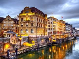 Собирать пазл Базель Швейцария онлайн