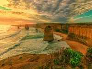 Собирать пазл Берег Австралии онлайн