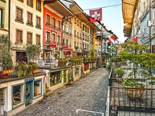 Собирать пазл Берн Швейцария онлайн