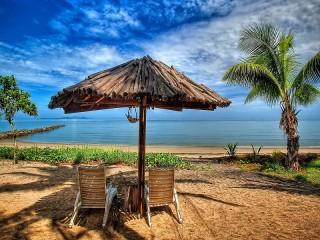 Собирать пазл Беседка на пляже онлайн