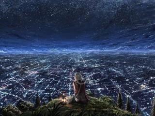 Собирать пазл Бесконечный город онлайн