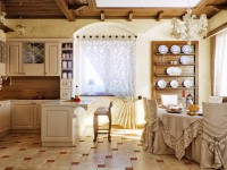 Собирать пазл Бежевая кухня онлайн