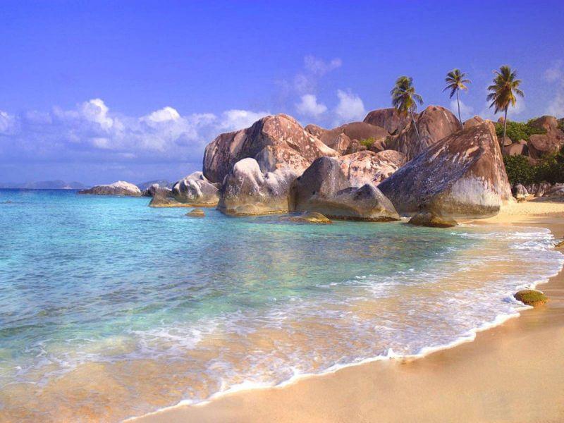 Пазл Собирать пазлы онлайн - Безлюдный пляж