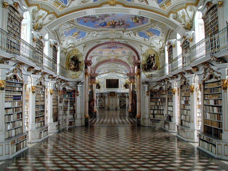Пазл Собирать пазлы онлайн - Библиотека - мечта