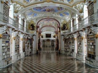 Собирать пазл Библиотека - мечта онлайн