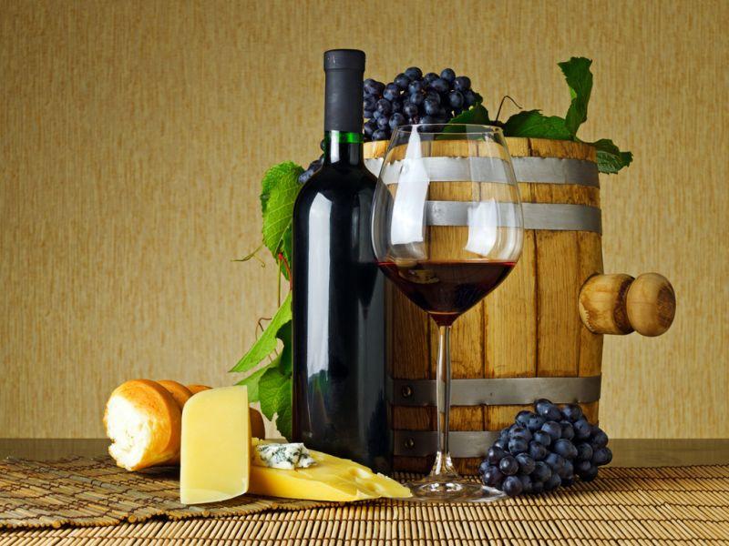 Пазл Собирать пазлы онлайн - бочонок с вином