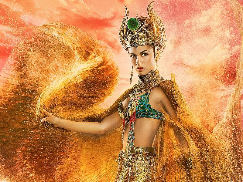Пазл Собирать пазлы онлайн - Богиня Хатор