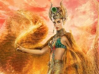 Собирать пазл Богиня Хатор онлайн