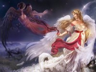 Собирать пазл Богиня и ангелы онлайн