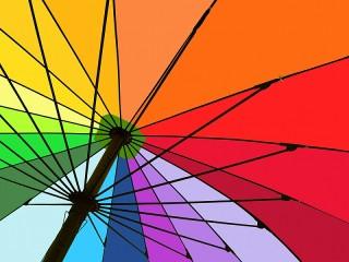 Собирать пазл Большой зонт онлайн