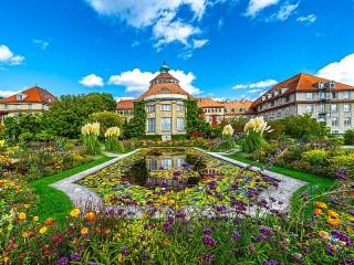 Собирать пазл Ботанический сад онлайн