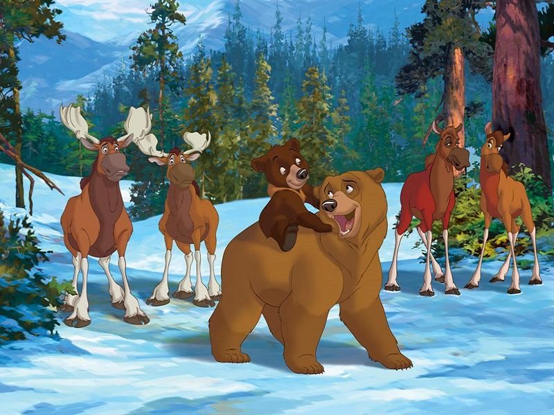 Пазл Собирать пазлы онлайн - Братец медвежонок