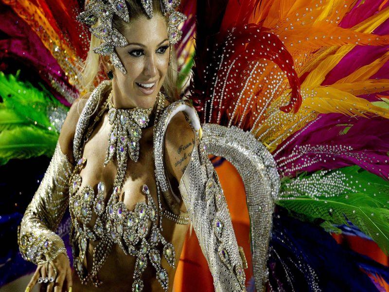 Пазл Собирать пазлы онлайн - Бразильский карнавал