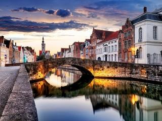 Собирать пазл Брюгге онлайн