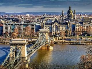 Собирать пазл Будапешт Венгрия онлайн