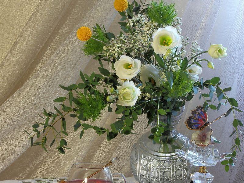 Пазл Собирать пазлы онлайн - Букет цветов