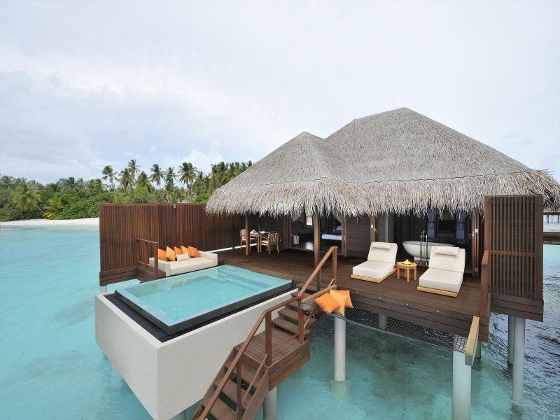 Пазл Собирать пазлы онлайн - Мальдивы
