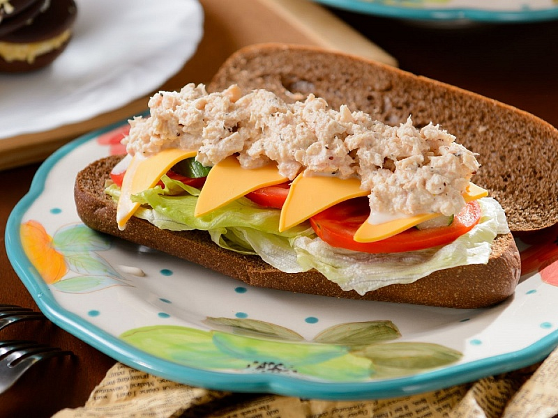 Пазл Собирать пазлы онлайн - Бутерброд