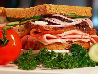 Собирать пазл Бутерброд онлайн