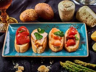 Собирать пазл Бутерброды онлайн