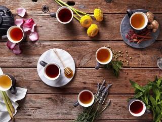 Собирать пазл Чай ассорти онлайн