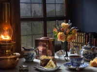 Собирать пазл Чай с дождем онлайн
