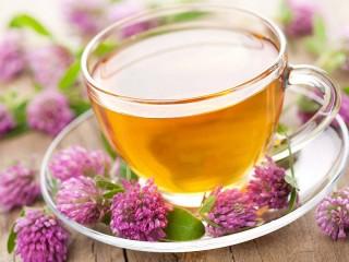Собирать пазл Чай с клевером онлайн